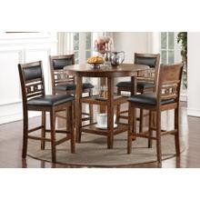 Gia 5 Pc Counter Height Dinette Set by New Classic D1701-52