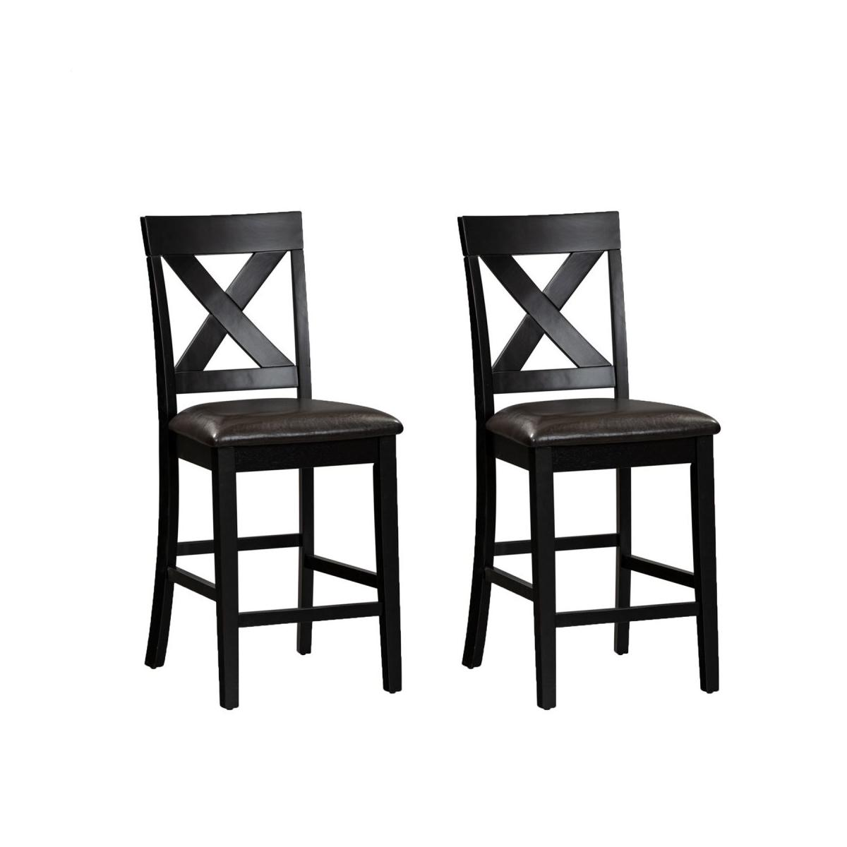 X Back Counter Chair- Pack of 2