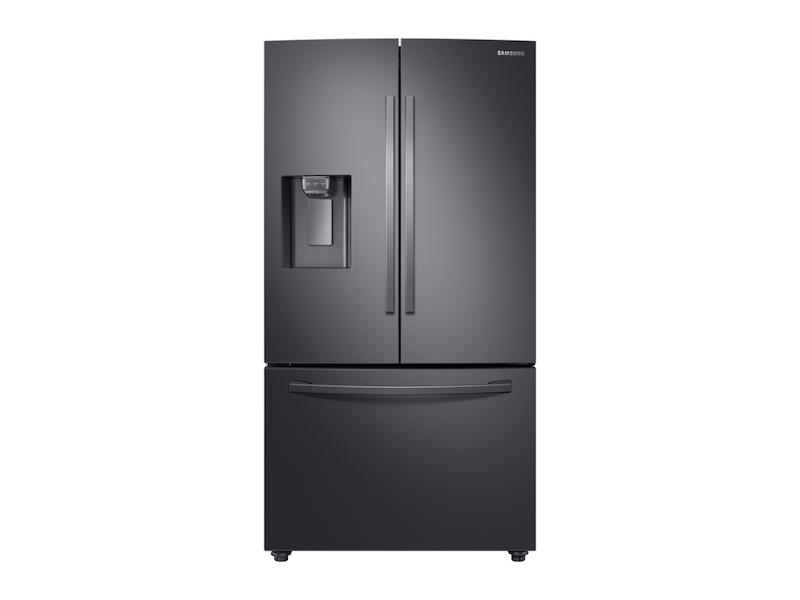 Samsung28 Cu. Ft. 3-Door French Door, Full Depth Refrigerator With Coolselect Pantry™ In Black Stainless Steel