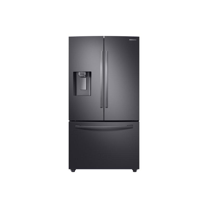 28 cu. ft. 3-Door French Door, Full Depth Refrigerator with CoolSelect Pantry™ in Black Stainless Steel