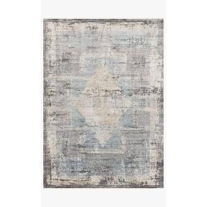Gallery - GEM-04 Charcoal / Multi Rug