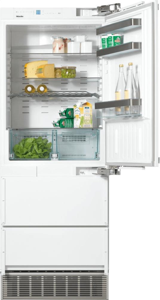 MieleKfn 9855 Ide - Perfectcool Fridge-Freezer Maximum Convenience Thanks To Generous Large Capacity And Ice Maker.