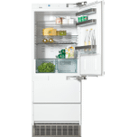 MieleMiele 30&quot - 14.1 Cu. Ft. Built-in Panel Ready Bottom Freezer Refrigerator