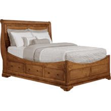 Versailles Euro Storage Bed Queen