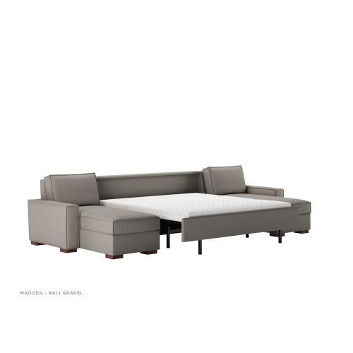 Madden Track Arm Sleeper Sofa - American Leather