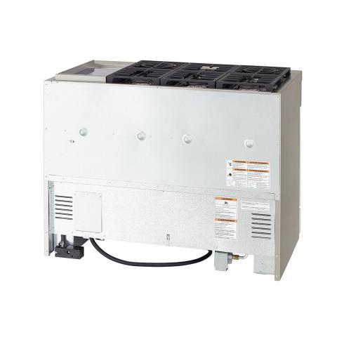 KitchenAid Canada - KitchenAid® 48'' Smart Commercial-Style Dual Fuel Range with Griddle - Misty Blue