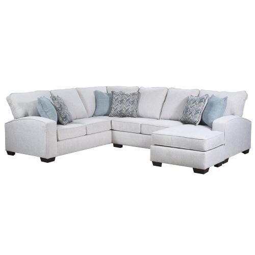 7077 Left Arm Facing Bump Sofa