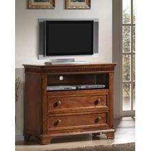 View Product - Kendall Oak Media Chest / with 2 Drawers