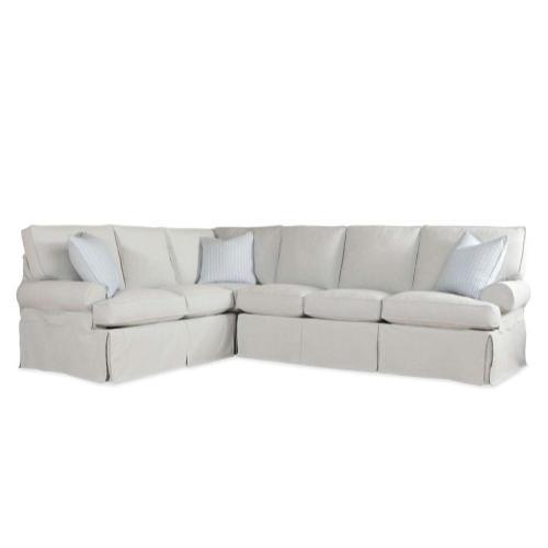 Robin Bruce - Cindy Slipcover Sectional Sofa