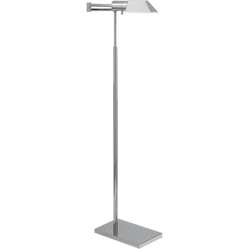 Visual Comfort 81134PN Studio Classic 43 inch 40 watt Polished Nickel Swing-Arm Floor Lamp Portable Light