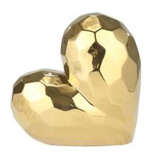 """View Product - Gold Ceramic Heart 11"""""""