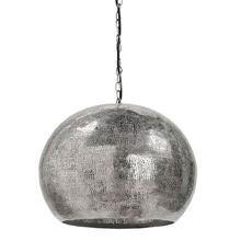 Pierced Metal Sphere Pendant