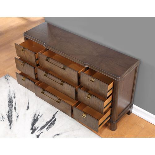 Gallery - Milan 2-Piece Dresser & Mirror