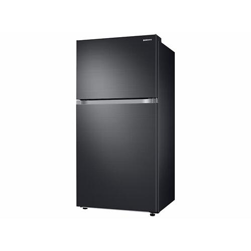 21 cu. ft. Top Freezer Refrigerator with FlexZone™ in Black Stainless Steel