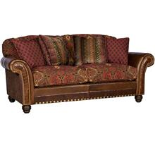 View Product - Katherine Leather/Fabric Sofa