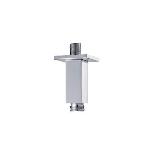 """Square Ceiling Drop (8"""") - Brushed Nickel"""