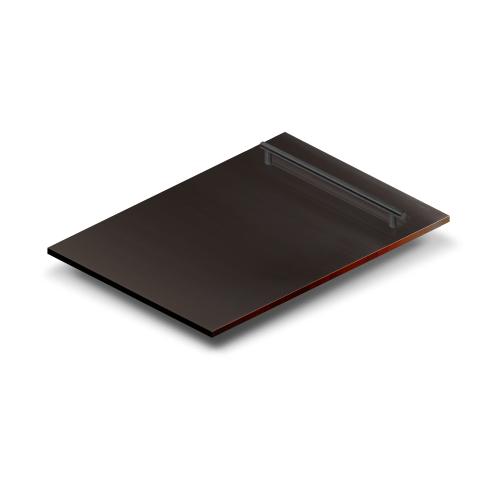 "Zline Kitchen and Bath - ZLINE 18"" Dishwasher Panel with Modern Handle [Color: Black Matte]"