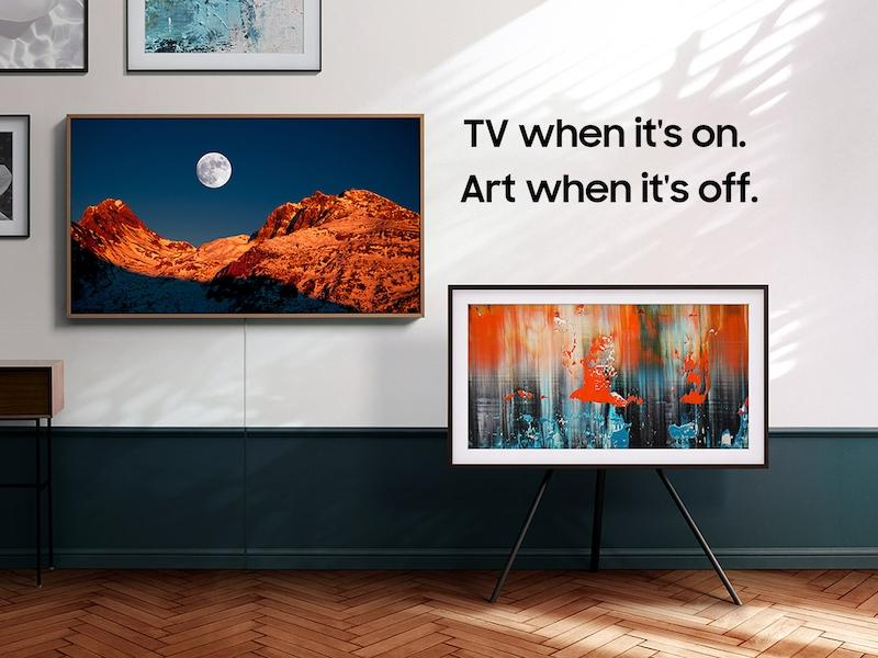 "Samsung50"" Class The Frame Qled 4k Uhd Hdr Smart Tv (2020)"