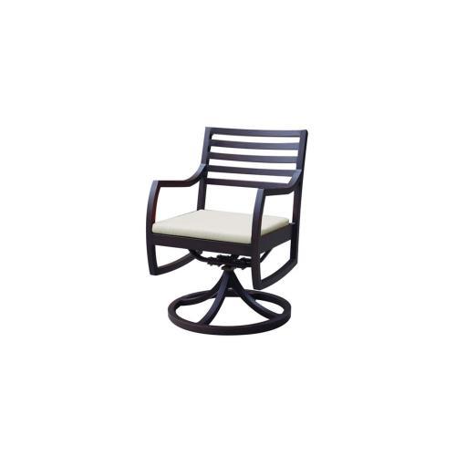 Madison Swivel Rocking Arm Chair