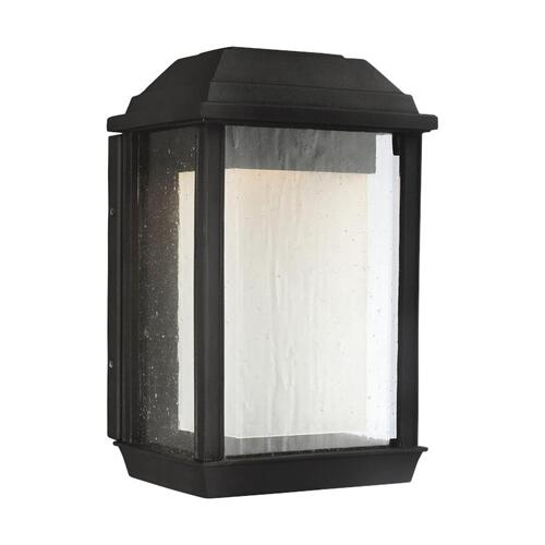 McHenry Small LED Lantern Textured Black Bulbs Inc