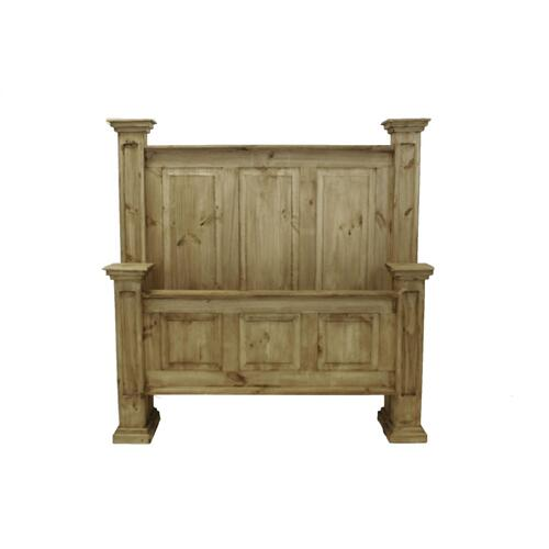 L.M.T. Rustic and Western Imports - Queen Oasis Bed