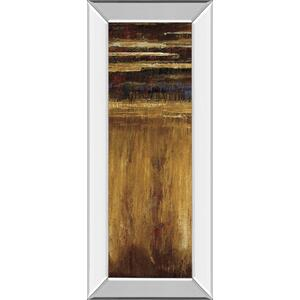 """Eruption Pompe II"" By Jardine Mirror Framed Print Wall Art"