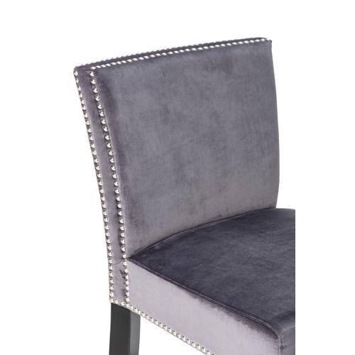 Imax Corporation - London Velvet Gray Barstool