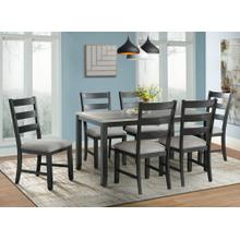 Martin Dining Table,  4 Chairs and Bench