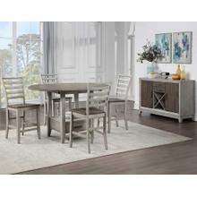 Product Image - Abacus 5-Piece Drop-leaf Counter Table Set (Counter Table & 4 Counter Chairs)