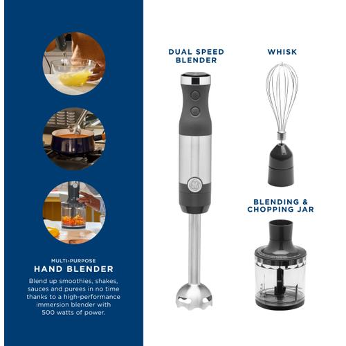 GE Appliances - GE Immersion Blender with Accessories