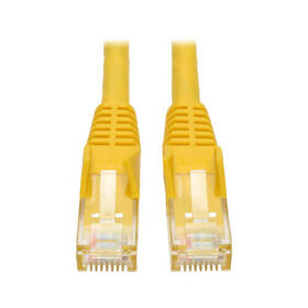 Cat6 Gigabit Snagless Molded (UTP) Ethernet Cable (RJ45 M/M), Yellow, 20 ft.