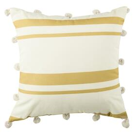 Jirina Pillow - White / Gold