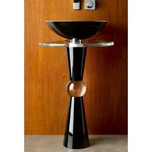 Cono Pedestal - Shown with 210 Basin and Cristal Countertop