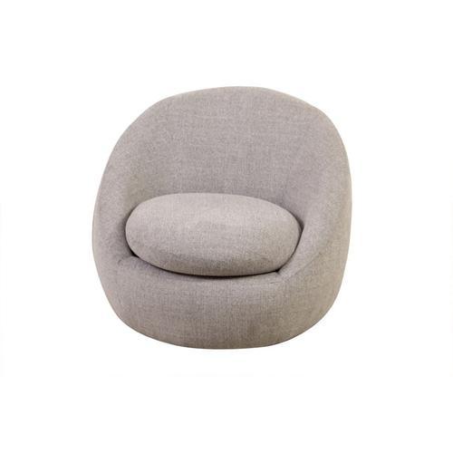 Luna Gray Swivel Chair, AC545