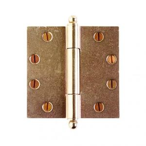 "Butt Hinge - 4 1/2"" x 4 1/2"" Silicon Bronze Brushed Product Image"