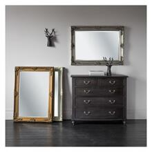 GA Abbey Rectangle Mirror Cream