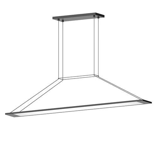 Sonneman - A Way of Light - Perfile LED Pendant [Color/Finish=Satin Black]