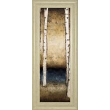 """Birch Landing II"" By St Germain Framed Print Wall Art"