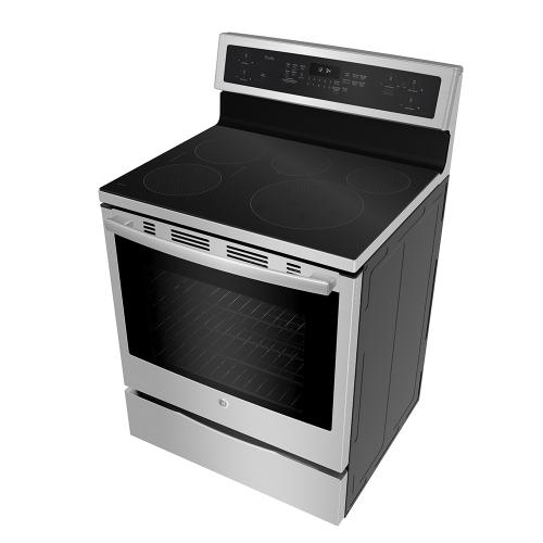 Gallery - GE Profile Freestanding Self-Clean Induction Range with Convection Stainless Steel - PCHB920YMFS