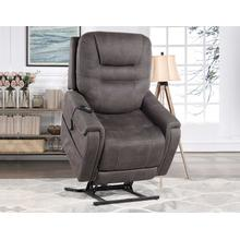 Brisbane Power Lift Chair w/Three Heat Zones, Stone