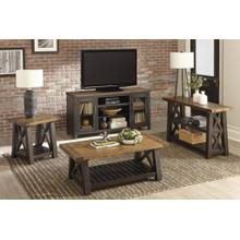 Bolton - Black Natural Stain Top