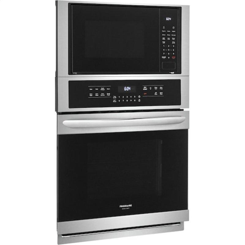 Gallery 27'' Electric Wall Oven/Microwave Combination