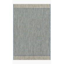 IE-03 Grey / Blue Rug