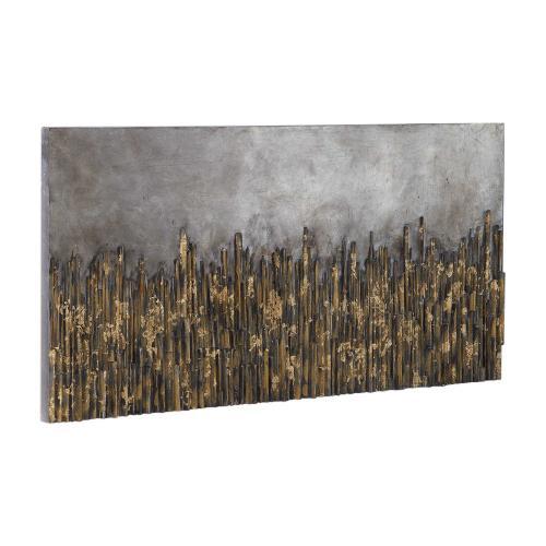 Golden Fields Hand Painted Canvas