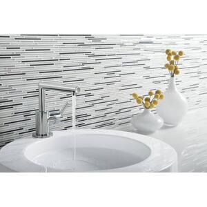 Arris chrome one-handle bathroom faucet