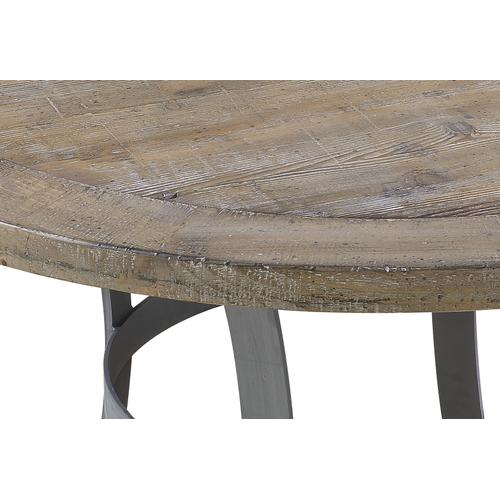 Interlude Round Dining Table, Sandstone Buff D560-14-05-k