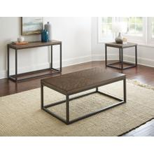 Aleka 3-Piece Set(Cocktail & 2 End Tables)