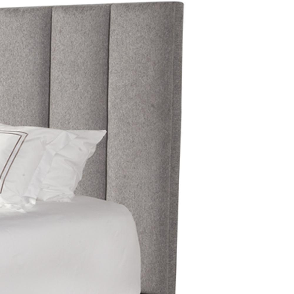 AVERY - STREAM King Headboard 6/6 (Grey)