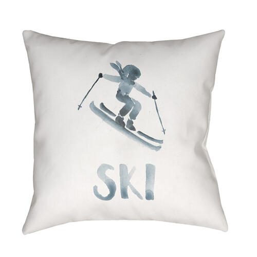"Ski II SKI-011 20"" x 20"""