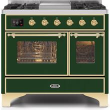 "40"" Inch Emerald Green Natural Gas Freestanding Range"